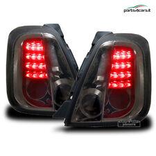 Fanali posteriori a LED per Fiat 500 (dal 2007) coppia di fari luci dietro fumè