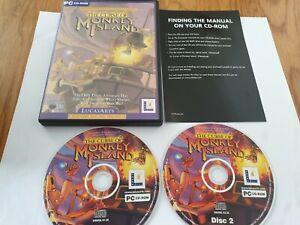 The Curse of Monkey Island PC CD-Rom Game FREE UK POSTAGE