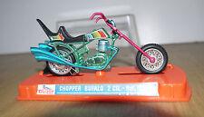 Superbe miniature moto Guiloy en boite Chopper Bufalo