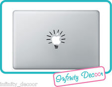 "Adesivo ""Lampadina"" per  Mac Book Pro/Air 13 - Stickers x apple MacBookPro"