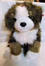 "Ty Classic Plush Dog ""Mugsy"", New, 2002, 14"""