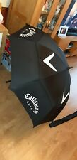 Callaway Black Wind Cheating Golfing Umbrella with Cover