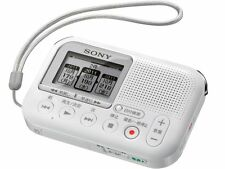 SONY LX Series MP3 Digital Voice Recorder White ICD-LX31 White Free shipping