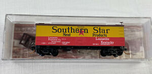 N Micro Trains 058 00 526 Southern Star   36' Wood Sheathed Ice Reefer