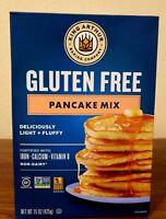 King Arthur Gluten Free Pancake Mix, 15 Ounce Pack of 6