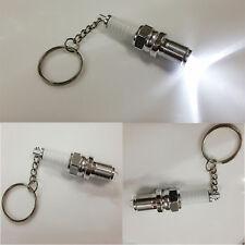 Llavero LED Keyring Keychain Metal Llavero Colgante Bujías De Encendido Nuevo