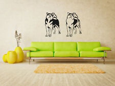 Alaskan Malamute Dog Puppy Breed Pet Animal Family Wall Sticker Decal Mural 2670
