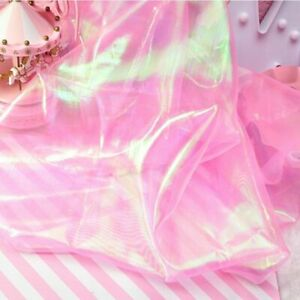 Iridescent Tulle Tablecloth DIY Backdrop Baby Shower Wedding Mermaid Party Decor
