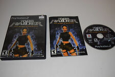 Tomb Raider The Angel of Darkness Sony Playstation 2 PS2 Video Game Complete
