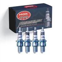 4 X NGK Laser Iridium Spark Plugs IFR5G11K # 3107 For Honda Civic Hybrid