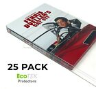 25 Pack Steelbook Protector Cases Plastic Protective Slipcover Sleeves  For Sale
