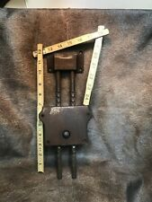 Antique Koken Barber Chair Headrest Parts # 410N&411N.works Good Moves Freely !