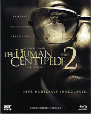 The Human Centipede 2 , Unrated Director's Cut , 100% Medically Inaccurate , New
