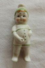 BEAUTIFUL RARE PEEING WEEING GERMAN BISQUE FIGURE OF A YOUNG BOY (295)