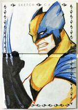 2019 Marvel Premier Wolverine 2 Panel Booklet Art Sketch 1/1 by Kazim Buyukun!