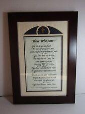 Pastor, Clergy, Sunday School  Gratitude Appreciation Framed Laser Calligraphy