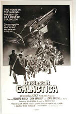 "Vintage Battlestar Galactica Movie Promo Poster- Laminated 11""x14"""