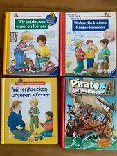 bilderbücher paket Wieso, Weshalb Warum Ravensburger u.a.