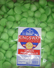 FACTORY SEALED 900G BAG OF GREEN SUGAR COATED MARSHMALLOW PAINT BALLS APPROX 150