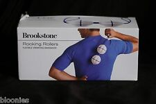 Brookstone Rocking Rollers Flexible Vibrating Massager