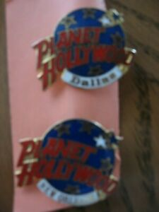 Planet Hollywood Dallas and New Orleans Pins