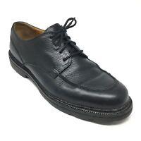Men's Cole Haan Country Malden Oxfords Shoe Size 11M Black Leather Apron Toe AF6