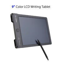 """WP9310 9"""" LCD Writing Drawing Tablet Handwriting Pads Board Black For Children"""