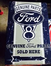 Ford Tin Sing V8 ford Man Cave Garage F150 Coupe