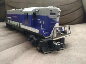 Lionel Wabash Locomotive #2339. Engine Runs