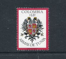 Colombia 834, MNH, Coat of Arms Tunja 1975-1979.  x23056