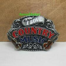 Music Metal Belt Buckles for Men