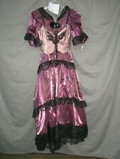 Victorian Dress Womens Saloon Girl Edwardian Costume Civil War Western