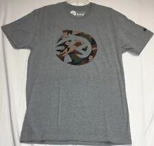 Nwot Kast Extreme Fishing Gear T Shirt Size Large Camo Logo Grey