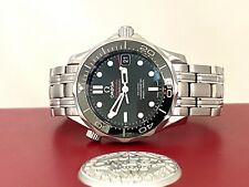 212.30.36.20.01.002 OMEGA SEAMASTER MIDI STEEL & CERAMIC AUTOMATIC WATCH £2750