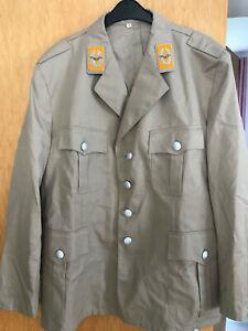 uniform luftwaffe offizier khaki beige größe 54 selten bundeswehr ungetragen