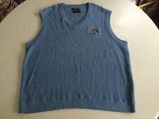 Mens V Neck Sweater Blue Vest Ryder Cup Size M Medium Oakland Hills