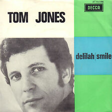 "TOM JONES ‎– Delilah (1968 VINYL SINGLE 7"" DUTCH PS)"
