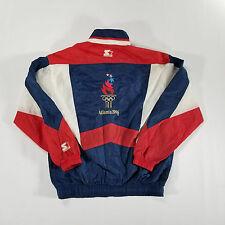 STARTER Olympic Games 1996 Atlanta Windbreaker Jacket SMALL Team USA VTG 90s