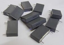 10 x Arcotronics 0.22uf 630V polyester capacitor MKTR60PN3220AA30K 220nf