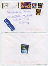 50384 - Kanada - Beleg - 6.12.2001 nach Eisleben