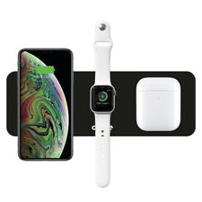 Multi wireless charger 3 in 1, ricarica a induzione Apple iPhone Air Pods Watch