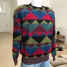 vintage Missoni multicolored mohair sweater size It 48 Made in Italy