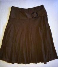 Mid-Calf Cotton Blend Regular Size Skirts for Women
