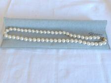 Echte Perlenkette ca. 44 cm mit 750er Gold Verschluß
