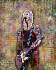 Duff McKagan Of Guns N' Roses 8x10in Poster, Duff McKagen GNR Free Shipping US