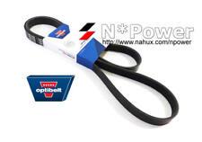 OPTIBELT DRIVE Belt FOR VOLKSWAGEN TIGUAN 5N 147 TSI CAWB 2.0L 2007.11-2011.07
