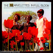 THE MARVELETTES-In Full Bloom-Rarer 1st Issue Northern Soul Album-TAMLA #TS288