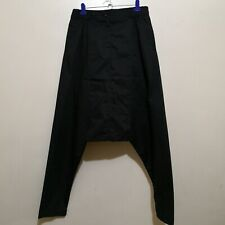 C626 - Koyo Black Dropped Crotch Pants