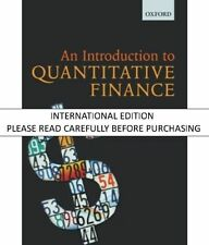 AN INTRODUCTION TO QUANTITATIVE FINANCE by BLYTH