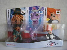 Disney Infinity - 3er Figurenset (Syndrome, Randy, Davy Jones ) -